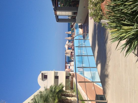 Santa Marina Plaza: Blick von voyer
