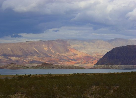 Lake Mead RV Village: View from RV