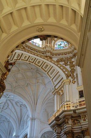 Catedral de Granada: Detalle de la capilla mayor