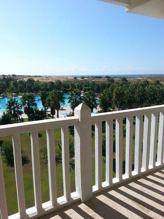 The Kumul: Blick von der 16qm Terrasse
