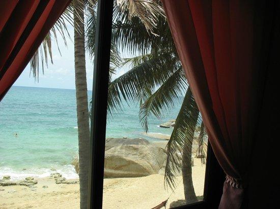 Paradise Lamai Bungalow: Вид из окна