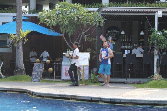 Sanur Paradise Plaza Suites : Dads favorite