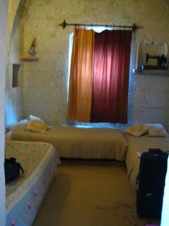 Hermes Cave Hotel: kızımızın alanı