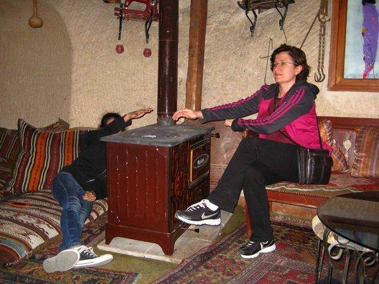 Hermes Cave Hotel: sobayı unutmuşuz:))