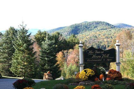 The Inn at Thorn Hill & Spa : Beautiful Views.