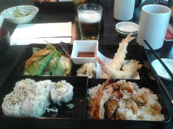 Kimono Japanese Restaurant: Kimono lunch special