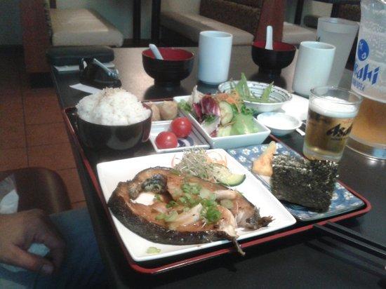 Kimono Japanese Restaurant: Kimono luch special