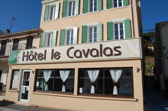 Hotel Le Cavalas: vue hôtel