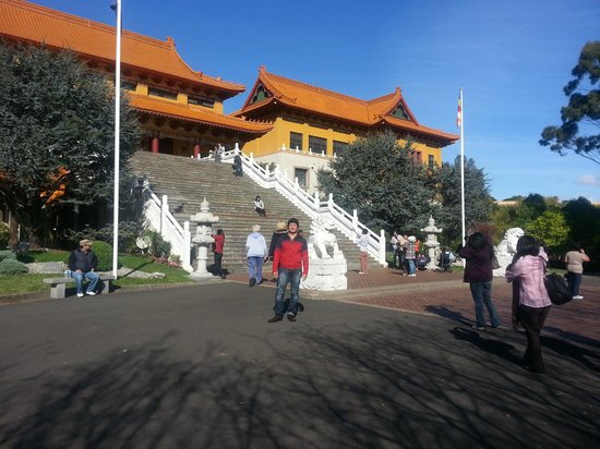 Nan Tien Temple : The main temple