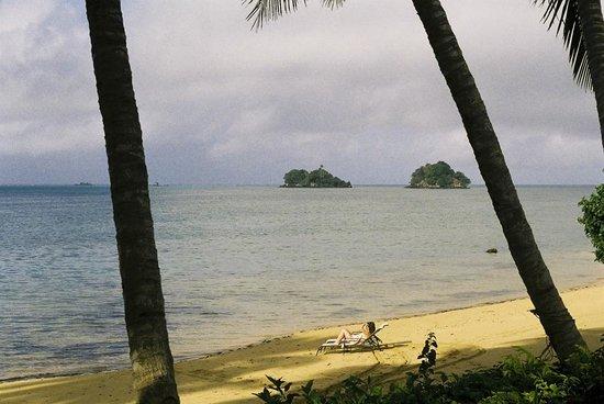 Coconut Grove Beachfront Cottages: Coconut Grove's beachfront