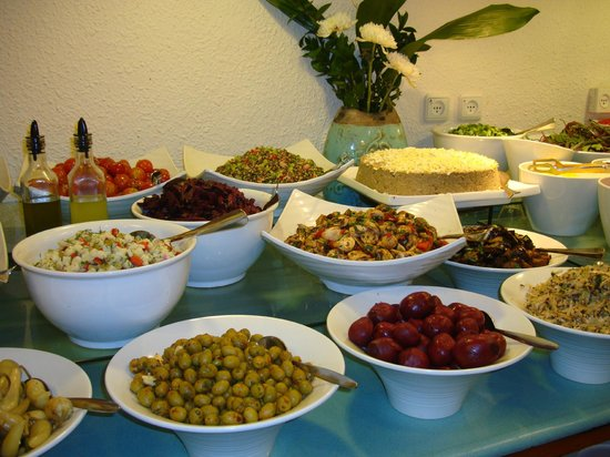 Kfar Giladi Hotel : Diversas guarniciones