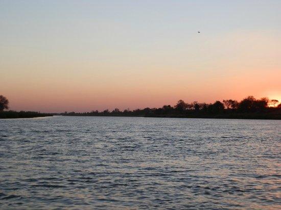 Kaisosi River Lodge: sunset cruise