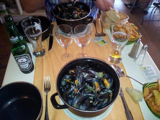 La Canne à Sucre : lækre muslinger