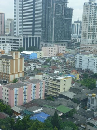 Bangkok City Hotel : the view from our room