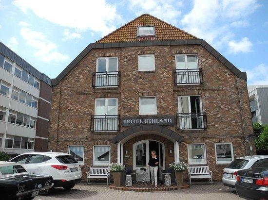 Hotel Uthland: Hotel von Vorne