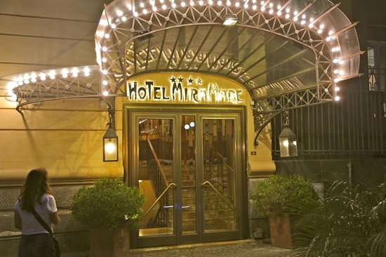 Hotel Miramare: Hotel entrance