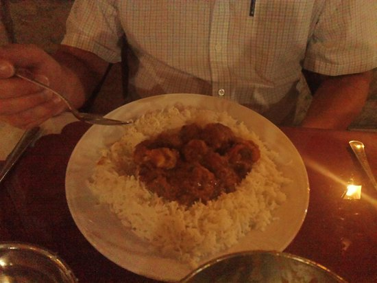 Jayanta Indian Restaurant: the perfect vindaloo (med-hot strength)