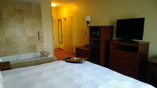 Hampton Inn Lincoln: Room