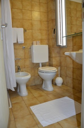 Eurhotel: bagno