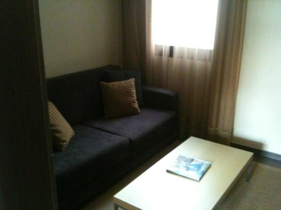 Hotel Constanza Barcelona : small living room