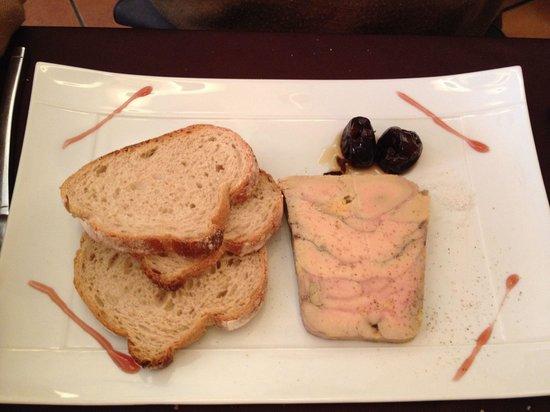 Le Chapon d'Or : Foie gras