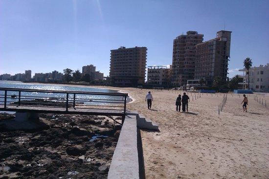 Famagosta, Cipro: kapalı maraş