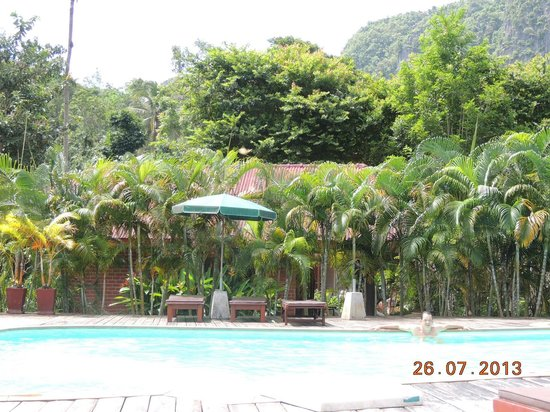Green View Village Resort: Piscina