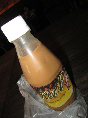 Kopi Ping Cafe: Bottled Coffee RM 2.80
