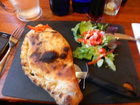 Calzone Picture Of Pizza Express Leamington Spa Tripadvisor