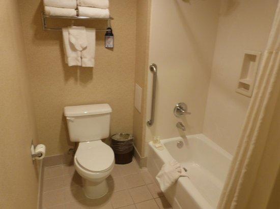 Best Western Plus High Sierra Hotel: Salle de bain