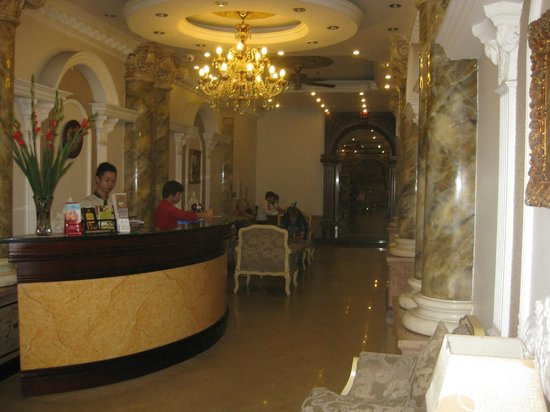 Hanoi City Palace Hotel: The lobby