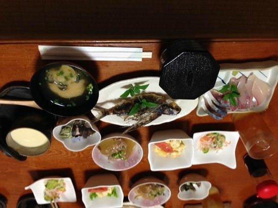 Minshuku Takenko : tobiuo karaage