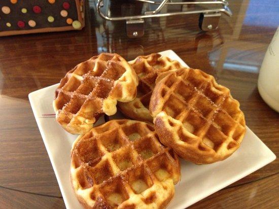 Puli Homestay: 假日限定美式早餐~只提供給假日住宿房客