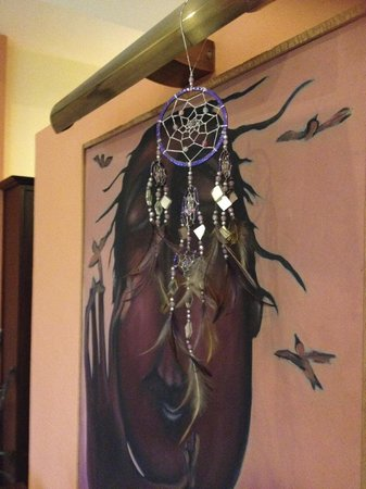 Dreamcatchers B&B: Room decor