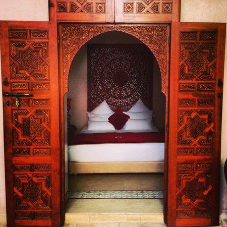 Riad Flam: Rubis room