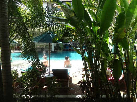 Banthai Beach Resort & Spa: View from Deluxe room
