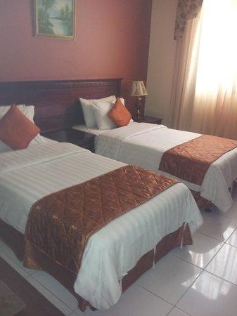 Hotel Du Parc: room
