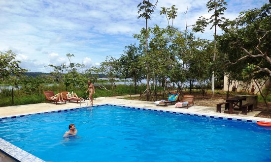 Anaconda Amazon Island: piscina