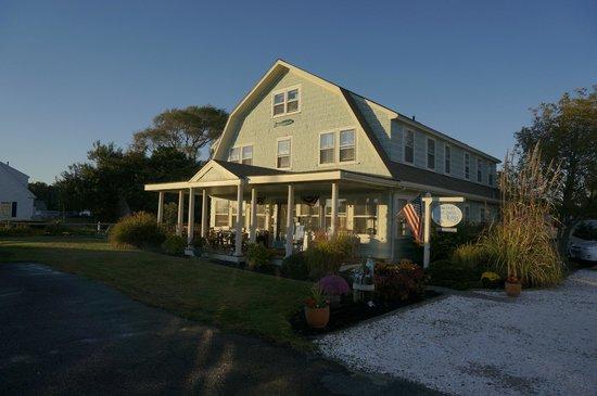 Inn at Lewis Bay: die Sonnenterrasse