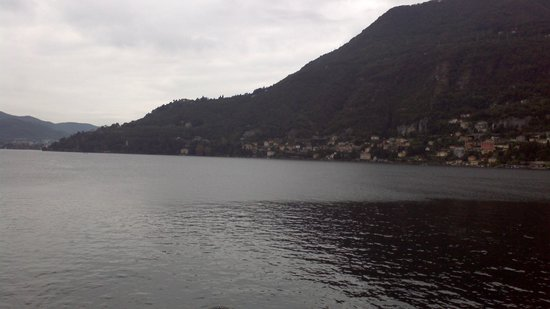 Albergo Ristorante Vapore : View of Lake Como from hotel balcony
