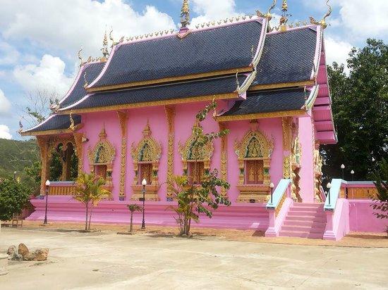 Mae On, Thailand: purple temple