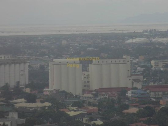 Ace Hotel & Suites: View from room of Laguna de Bay