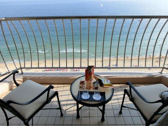 Paradise Hotel Busan: le balcon