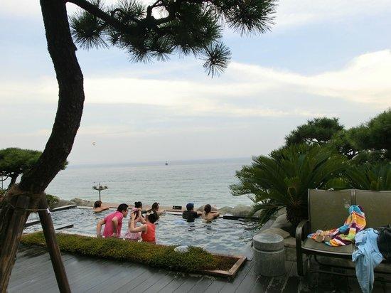 Paradise Hotel Busan : Vue du spa