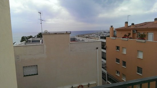 Hotel Rovira: Vista desde la Habitación 410