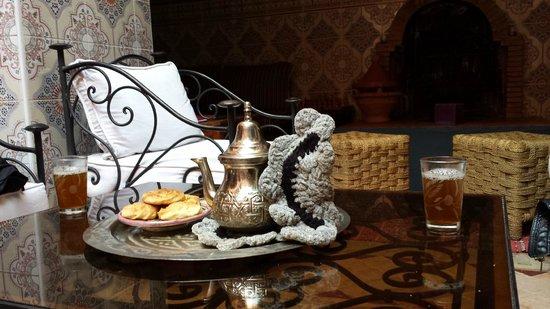 Cala Medina : tè di benvenuto
