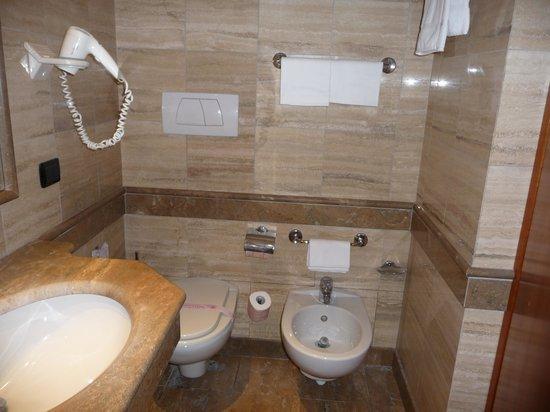 Hotel Diplomatic : Loo and bidet