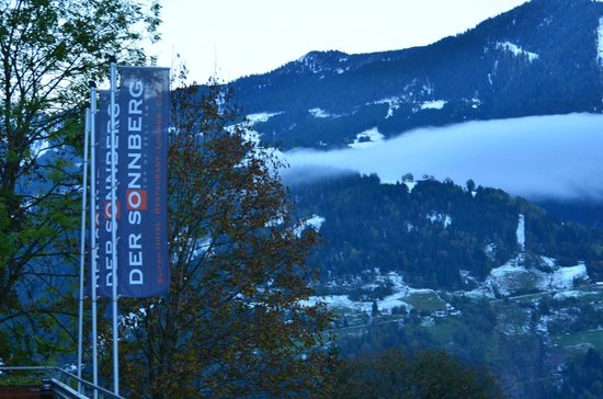 Der Sonnberg: View from the hotel