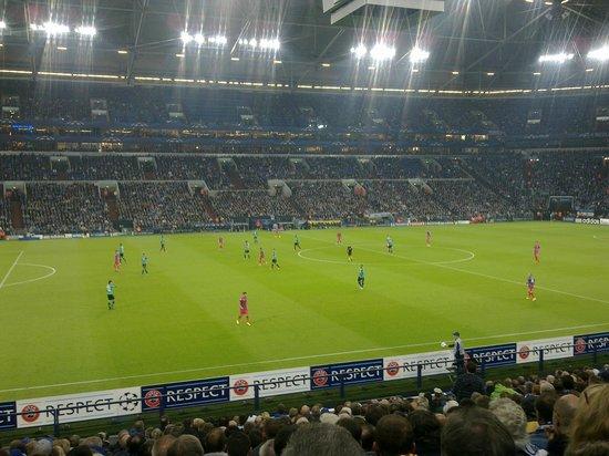 Halde Hoheward: Veltins Arena - CL: Schalke 04 Steaua Bucuresti