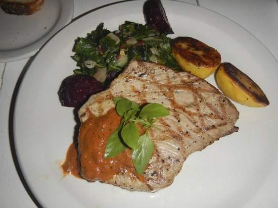 Slipway Restaurant: Steak de thon